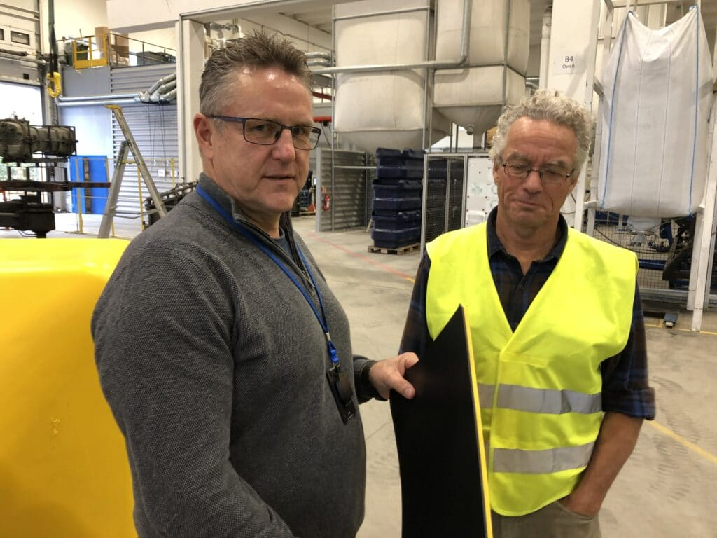 Visit from Rasmus Hansson (CEO) from Norwegian Retailers' Environment Fund